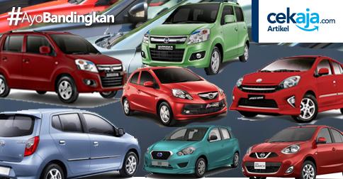 LCGC, Pilihan Mobil Murah Terbaru di Tahun 2016 Ini