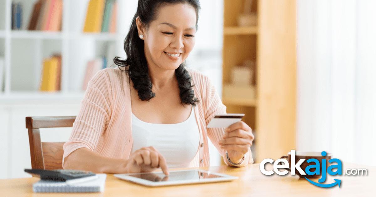pakai kartu kredit - CekAja.com