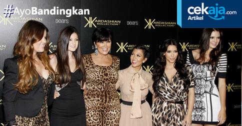 Pundi-pundi Kekayaan Anggota Keluarga Kardashian