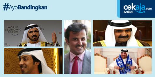 Lima Sheikh yang Gemar Investasi di Dunia Olahraga