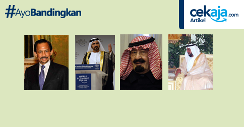 Empat Tokoh Muslim Terkaya di Dunia