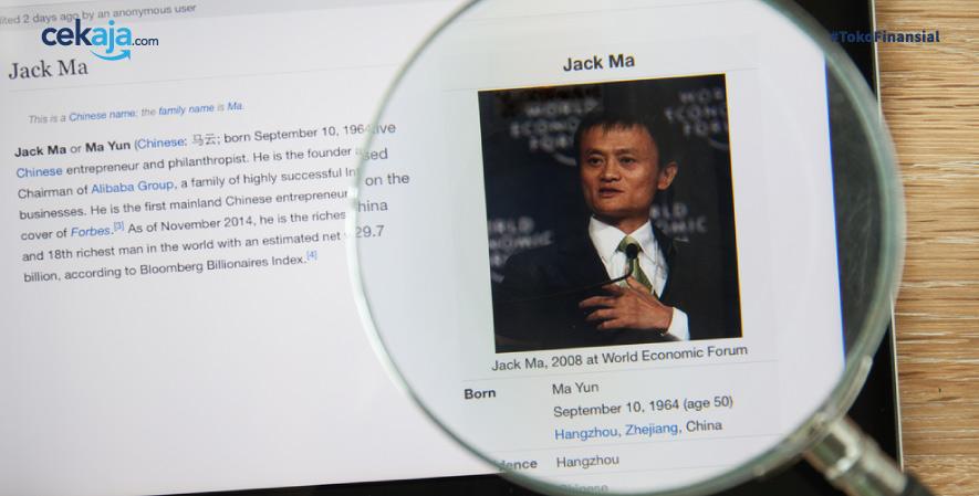 jack ma _ investasi - CekAja.com