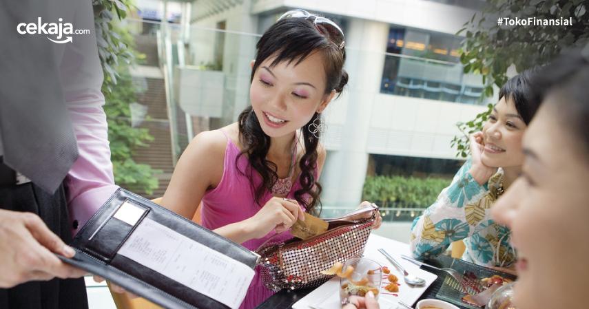 makan di restoran _ kartu kredit - CekAja.com