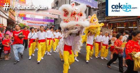 Mau Nikmati Serunya Perayaan Imlek di Beberapa Wilayah Indonesia? Ini Bujet yang Mesti Disiapkan
