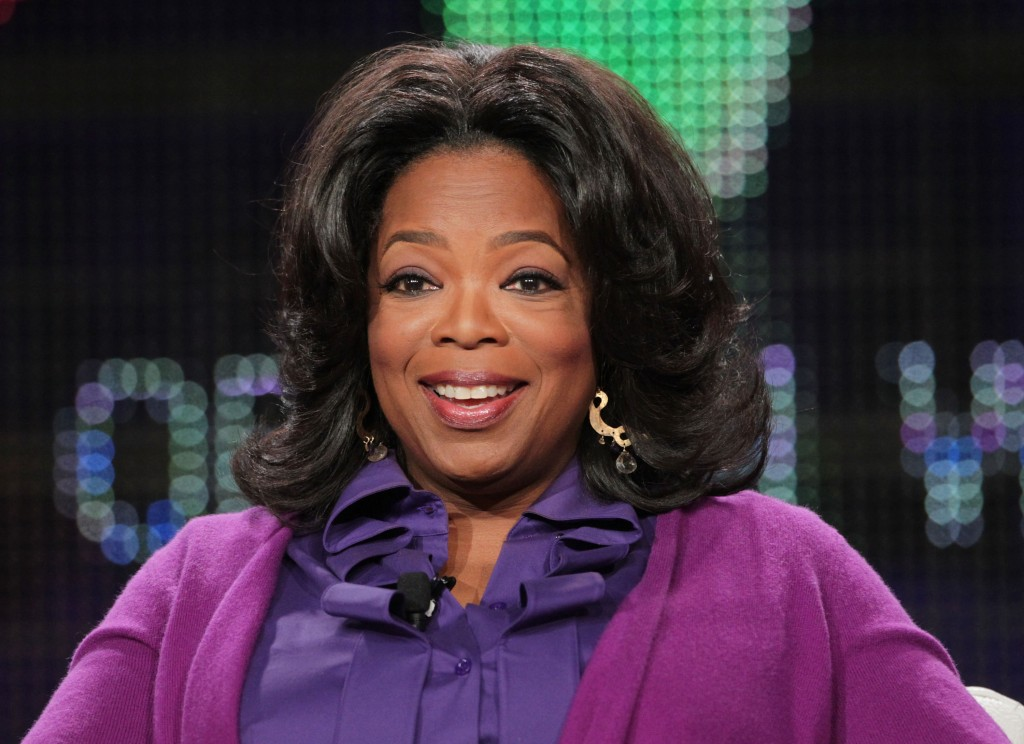 PASADENA, CA - JANUARY 06: Oprah Winfrey speaks onstage during the OWN: Oprah Winfrey Network portion of the 2011 Winter TCA press tour held at the Langham Hotel on January 6, 2011 in Pasadena, California. (Photo by Frederick M. Brown/Getty Images)