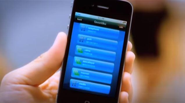 tampilan mandiri mobile