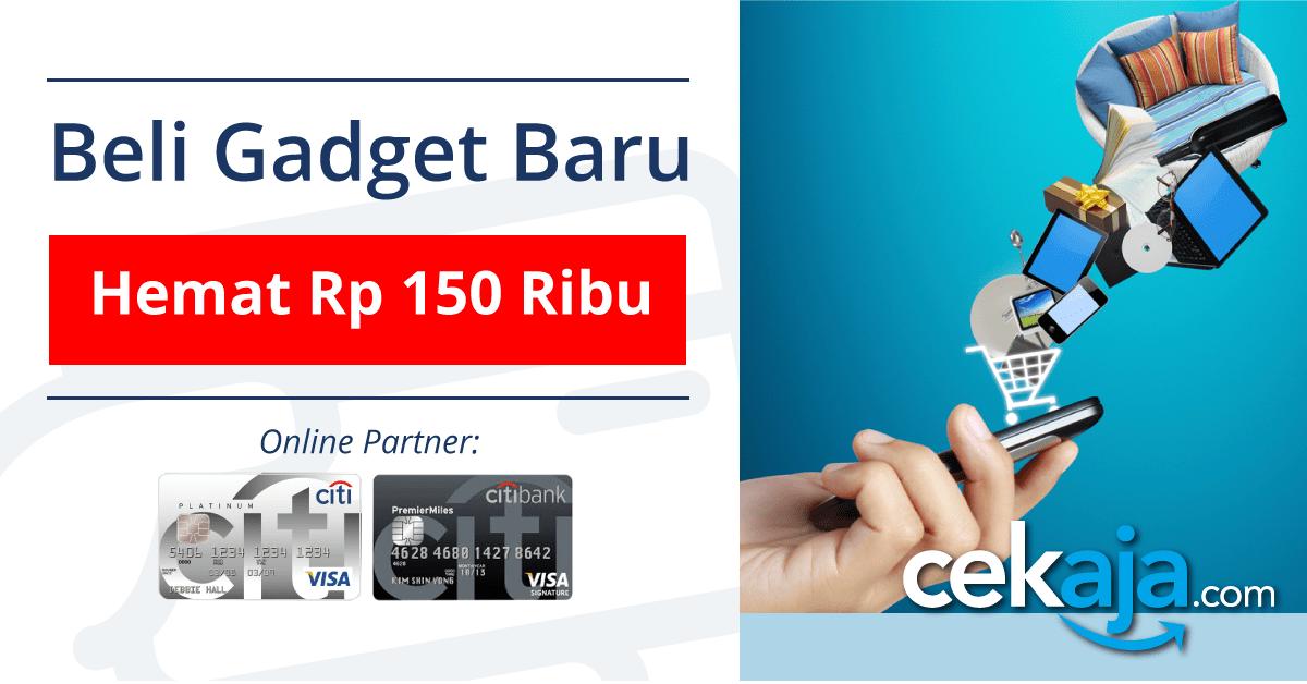 Hemat Belanja Gadget Online dengan Kartu Kredit Citibank