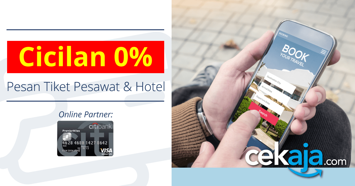 promo citibank - traveloka - CekAja.com