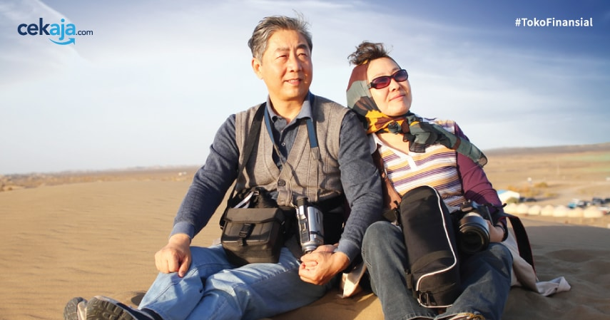 Kisah Pasangan Manula Keliling Dunia