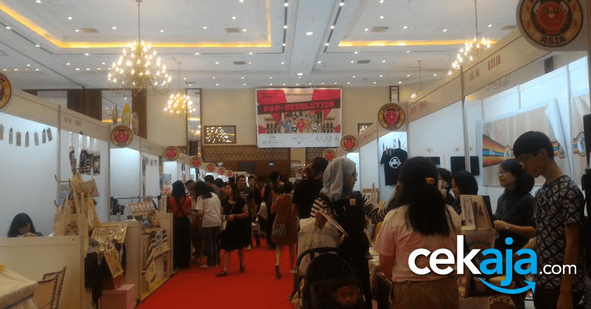 PopCon Asia 2016, Dukung Karya Anak Bangsa Berjaya di Negeri Sendiri