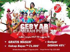 Whats On Gebyar Merah Putih