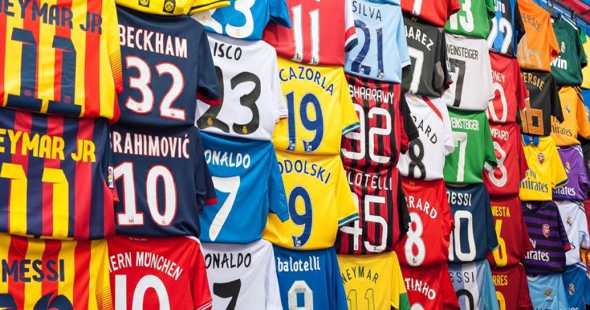 5 Klub Sepakbola dengan Angka Penjualan Jersey Terbesar di Dunia