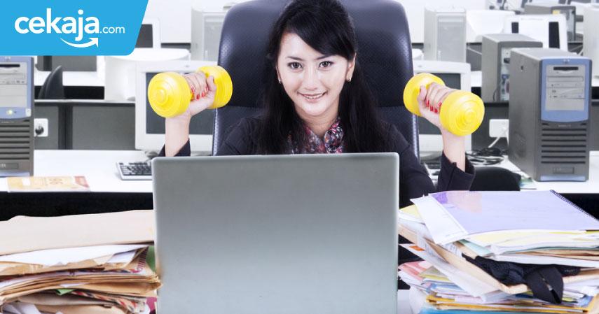 olahraga di kantor - CekAja.com