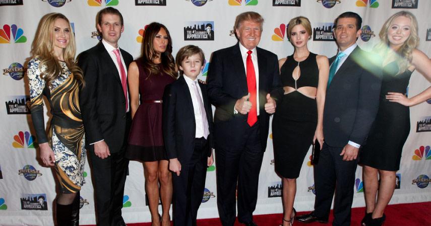 Mengenal Kekayaan dan Kisah Keluarga Donald Trump