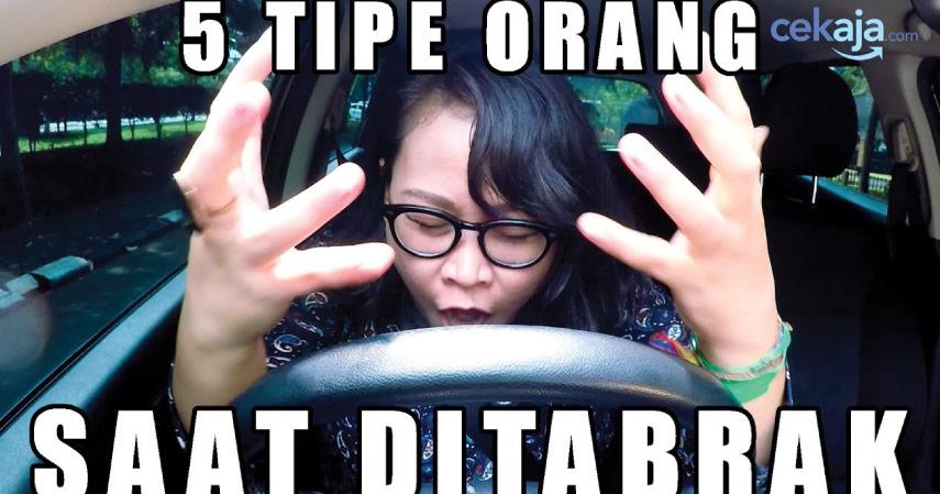 5 Reaksi Ketika Mobilmu Ditabrak Motor dari Belakang