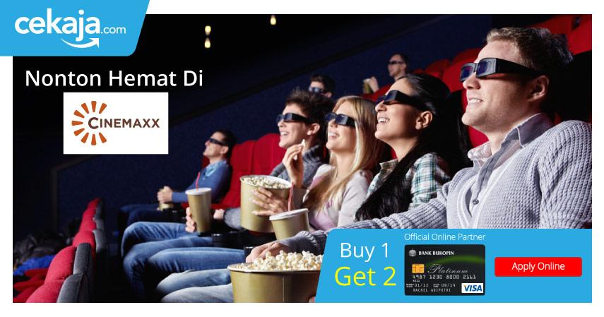 Promo Santai Seru di Cinemaxx dengan Kartu Kredit Bukopin