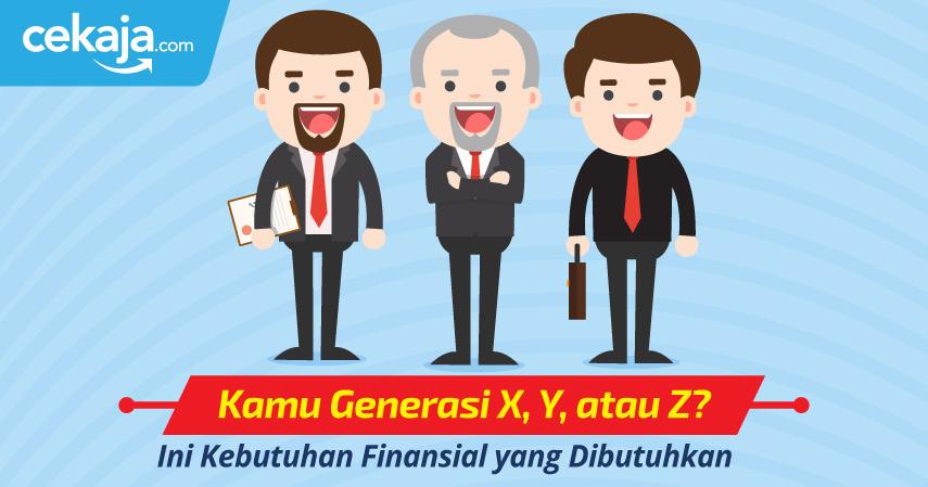 Kamu Generasi X, Y, atau Z? Ini Kebutuhan Finansial yang Dibutuhkan