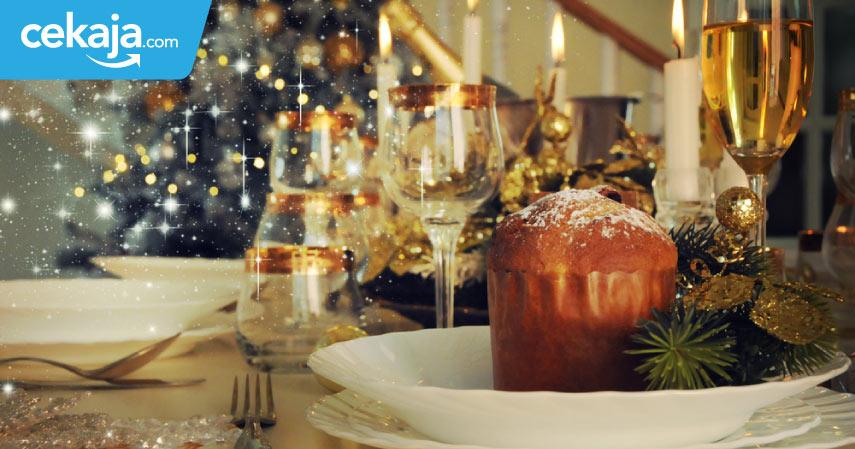 Mengintip Asyiknya Pesta Natal Selebriti Dunia