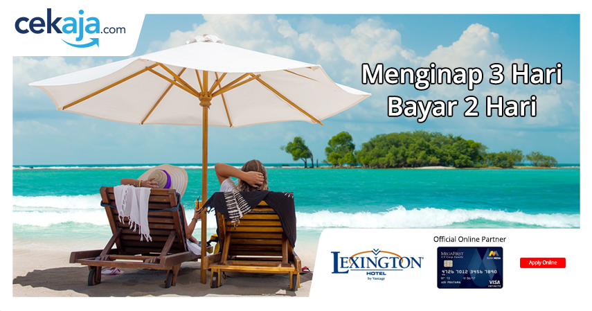 promo lexington bali kartu kredit bank mega - CekAja.com