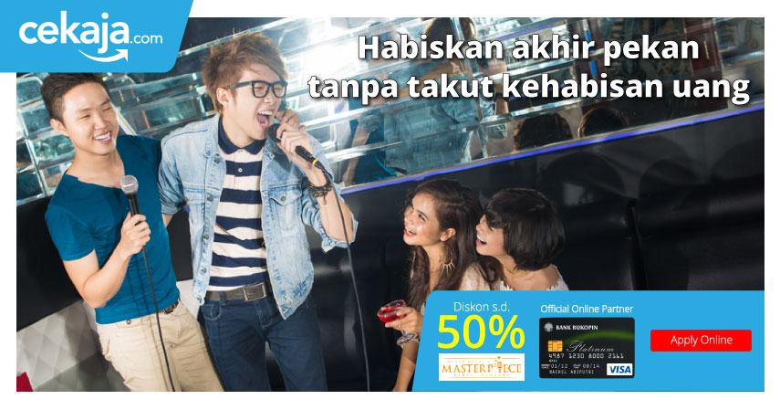 promo Masterpiece Family Karaoke Bukopin - CekAja.com