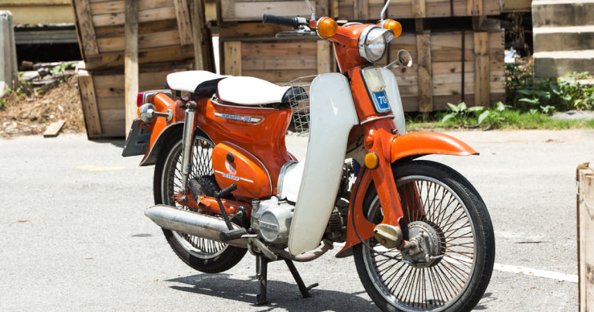 motor antik honda c70 - CekAja.com