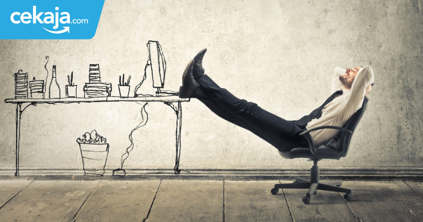 kerja santai gaji besar - CekAja.com