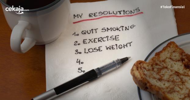Hal-hal yang Bikin Resolusi Tahun Baru Tidak Tercapai