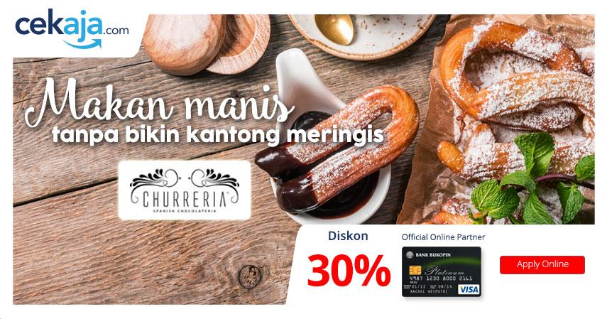promo Churreria bukopin - CekAja.com