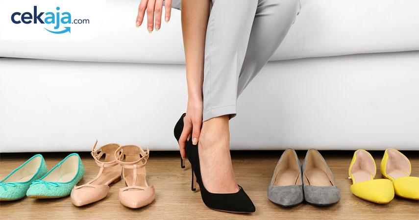 hadiah valentine sepatu_kartu kredit - CekAja.com