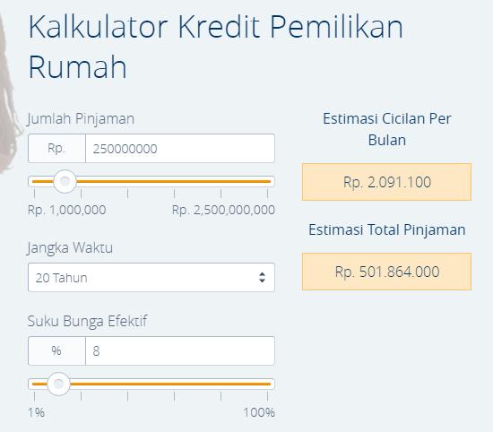 Kalkulator KPR