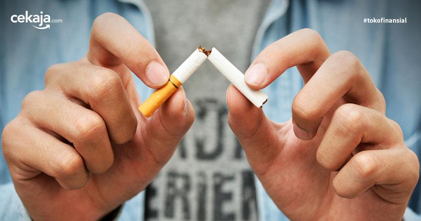 tips berhenti merokok _ asuransi kesehatan - CekAja.com