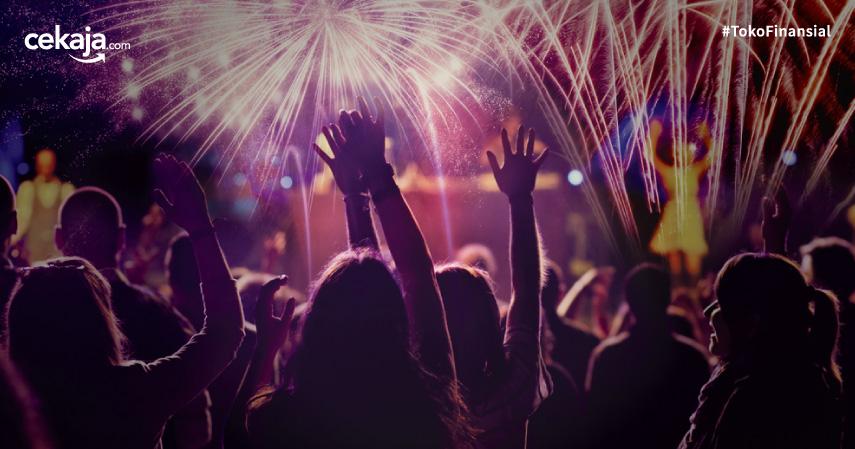 Acara Tahun Baru Dunia - CekAja