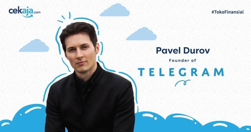 Kisah Sukses Pavel Durov Membangun Aplikasi Telegram