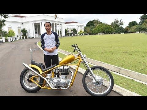 Beda Jaket dan Motor Presiden Jokowi vs Dilan, Yuk Cek!