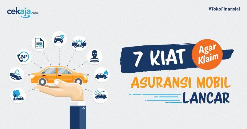 Infografis 7 Kiat Asuransi Mobil