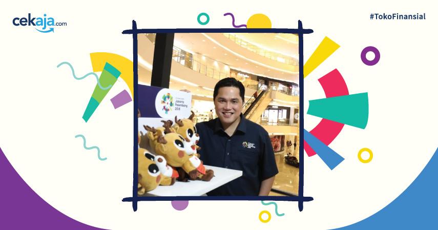 Mengenal Erick Thohir, Pengusaha di Balik Kesuksesan Asian Games