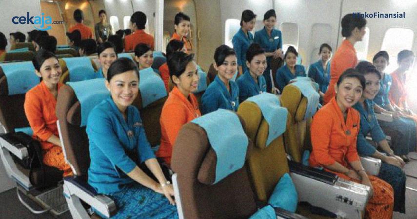 Selain Gaji Dua Digit, Ini Sederet Keuntungan Jadi Pramugari Garuda Indonesia!