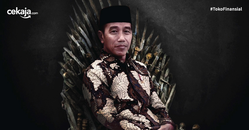 Ilustrasi Jokowi Game of Thrones