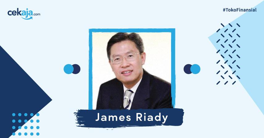 Mengenal Lebih Dekat Bos Grup Lippo, James Riady