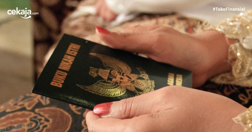 kartu nikah buku nikah