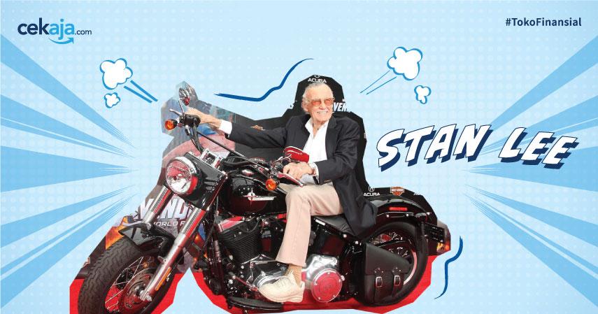 Bapak Marvel Stan Lee Meninggal, Ini Perjalanan Karir Sang Komikus Legendaris
