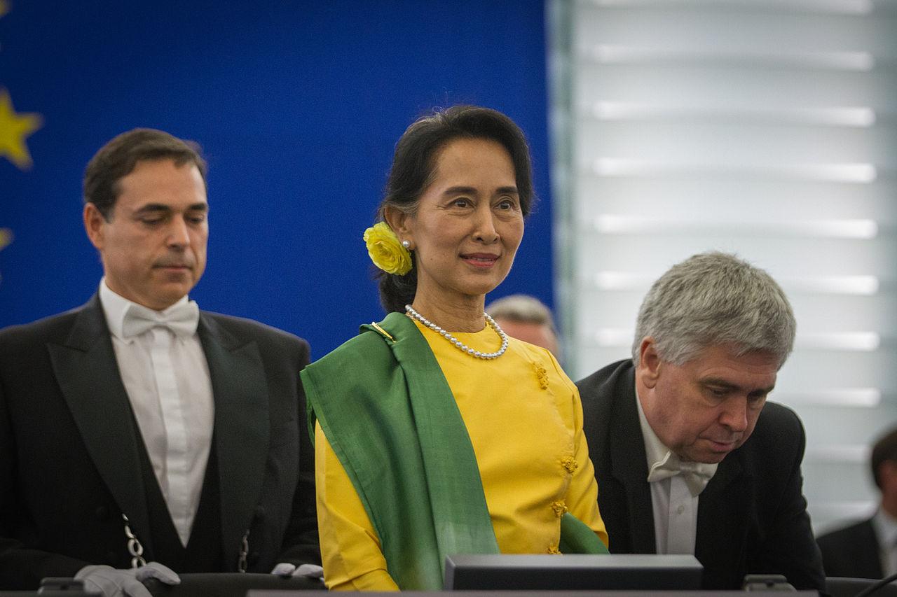 Suu Kyi (Wikimedia Commons)