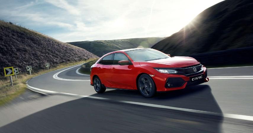 Honda Civic 5D hatchback terlaris 2018