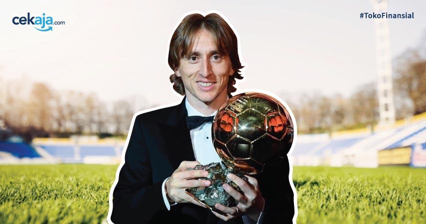 Luka Modric Ballon d'Or - CekAja