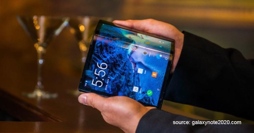 Samsung Flex - Smartphone dengan Desain Terbaik 2019