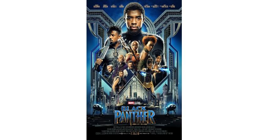 Black Panther (2018) - Film Marvel dengan Pendapatan Tertinggi