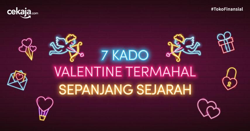 7 Kado Valentine Termahal Sepanjang Sejarah