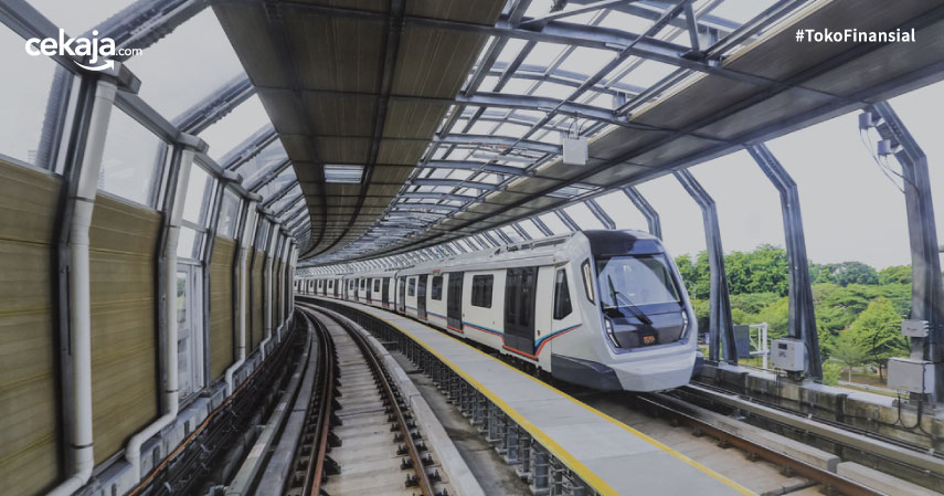 Naik MRT Jangan Norak, Patuhi 7 Aturan Ini