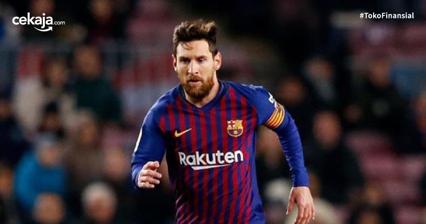 Messi Bergelar Atlet Terkaya Tahun Ini, Maaf Ronaldo Sudah Dua Kali