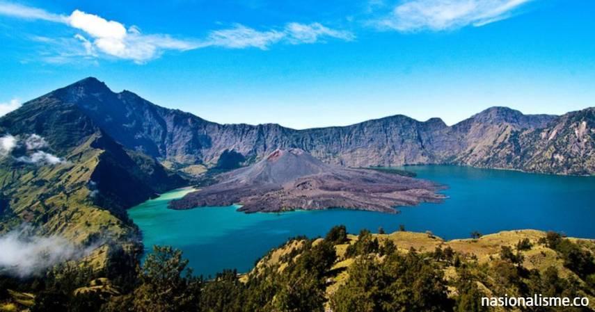 Gunung Rinjani geopark dunia